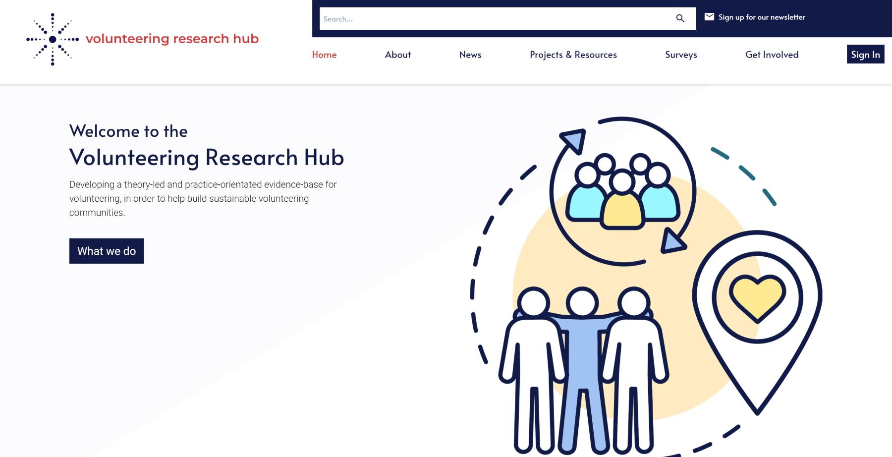 Volunteering Research Hub