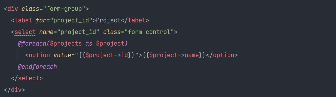Post create code
